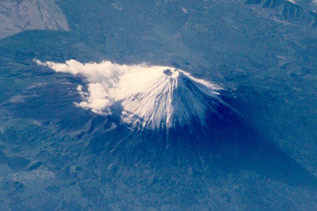 Monte Fuji - Vista dall'ISS, Stazione Spaziale Internazionale