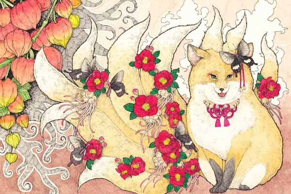 Kitsune mostro giapponese