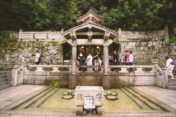 Sacra Cascata Otawa del Kyomizu-dera