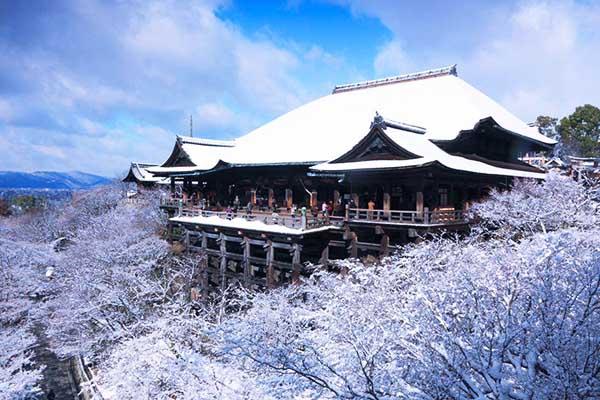Kyomizu-dera in Inverno