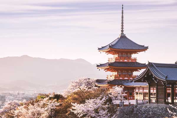 Pagoda del Kyomizu-dera