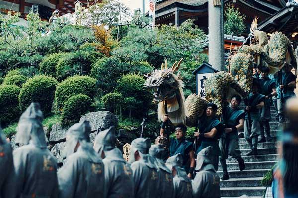 Seiryu-e festa del Dragone al Kyomizu-dera