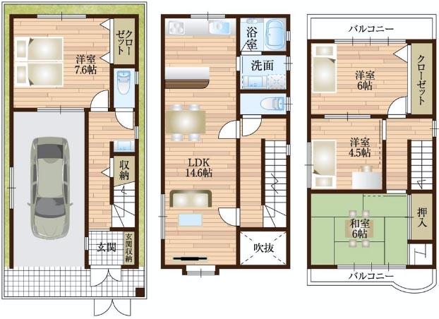 Tatami casa in vendita esempio