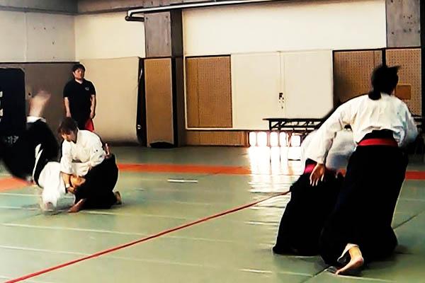 Tatami judo