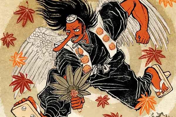 Tengu mostro giapponese