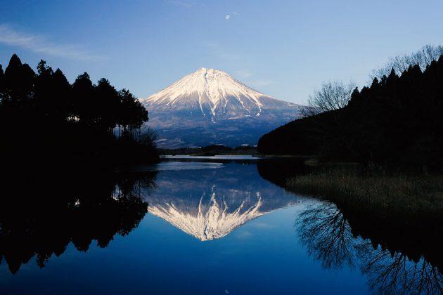 Monte Fuji - Vista dal lago Tanuki