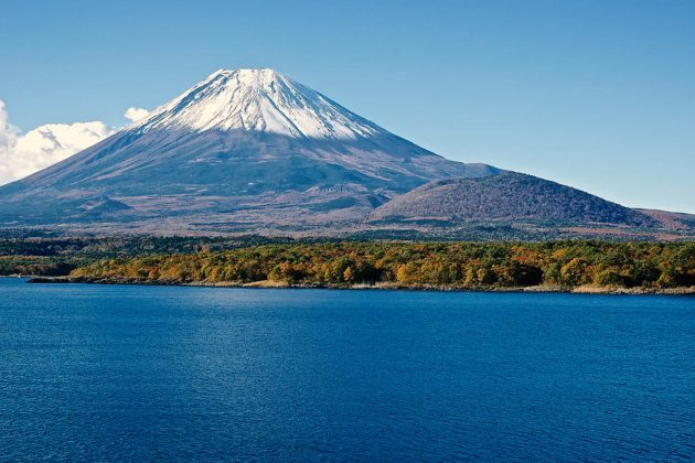 Monte Fuji - Vista dal lago Motosu
