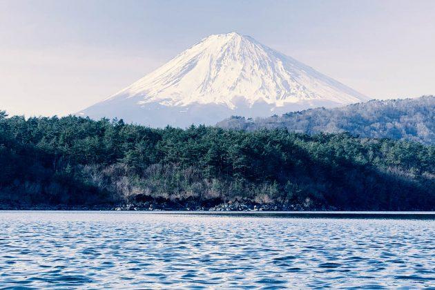 Monte Fuji - Vista dal lago Sai