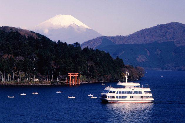 Monte Fuji - Vista dal lago Ashino