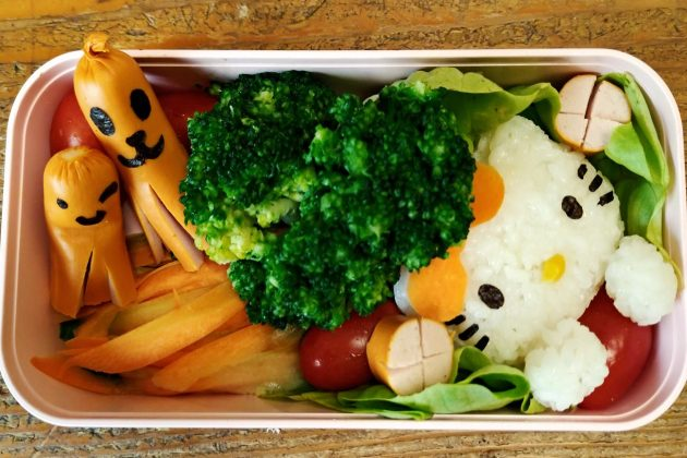 Bento con Hello kitty