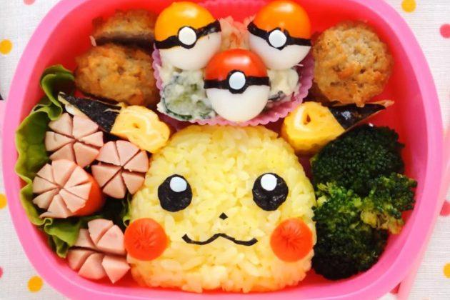 Bento con Pikachu