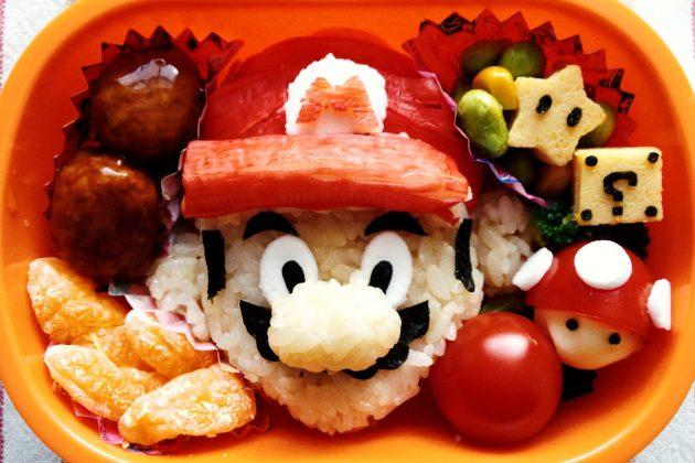 Bento con Super Mario