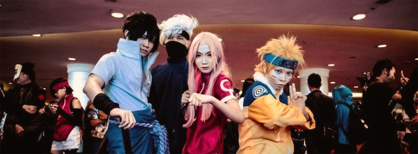 Cosplay in Giappone: Naruto
