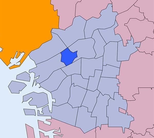 Distretto di Fukushima a Osaka
