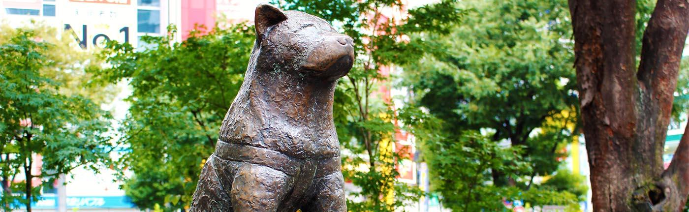 Statua di Hachiko a Shibuya
