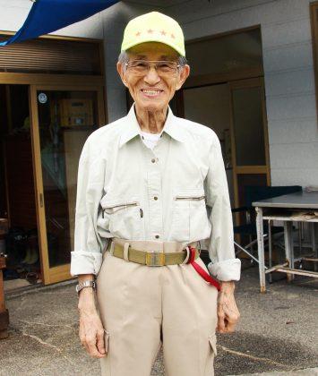 Hiroo Onoda in età anziana