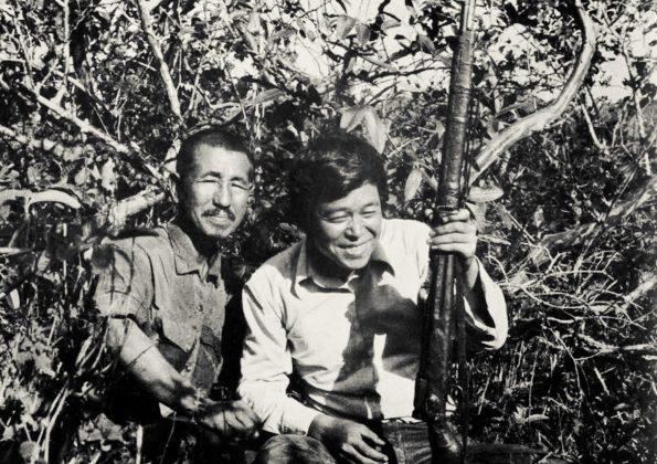 Hiroo Onoda con Norio Suzuki (esploratore che lo ha trovato)