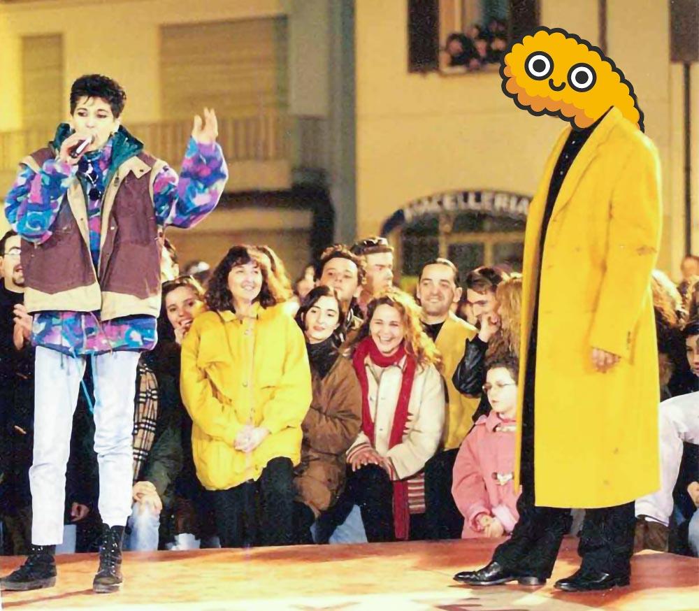Karaoke in Giappone condotto da Minkiarello