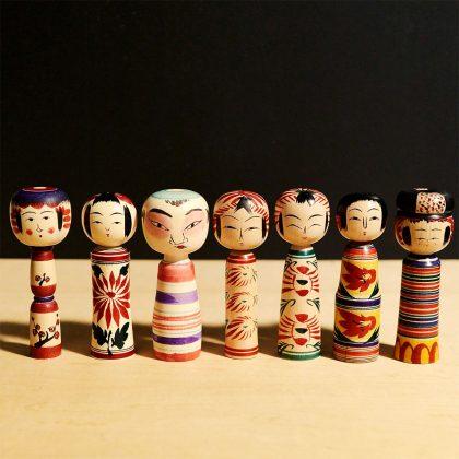 Kokeshi tradizionali