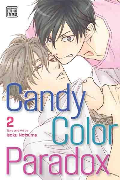 Manga YAOI - Candy Color Paradox