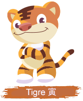 Oroscopo giapponese: TIGRE
