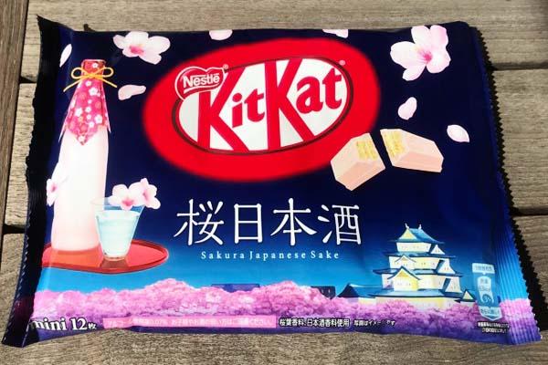 Kit Kat da mangiare durante la fioritura dei ciliegi