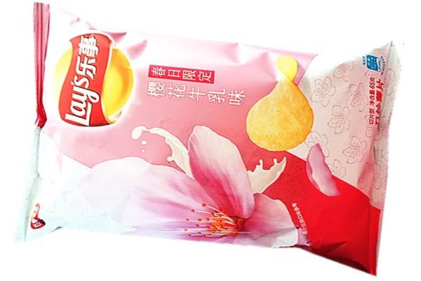 Patatine al gusto sakura