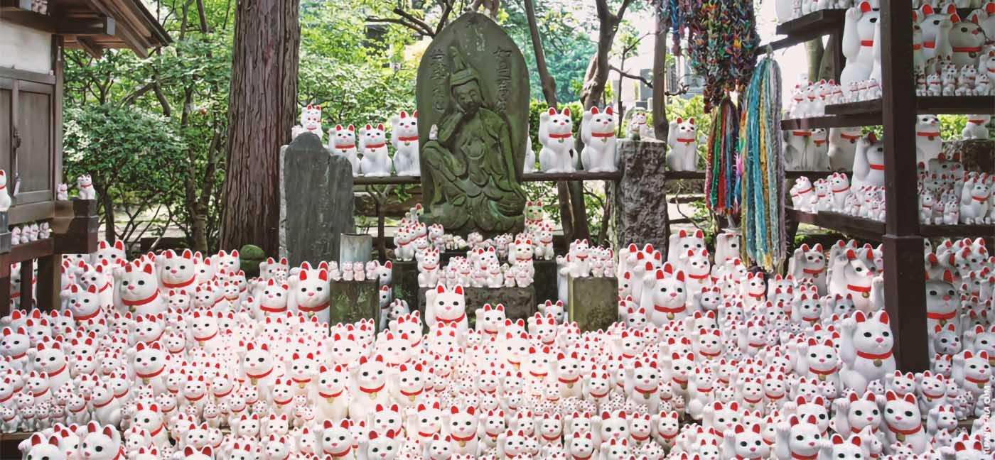 Gotuku-ji, tempio dei Maneki neko