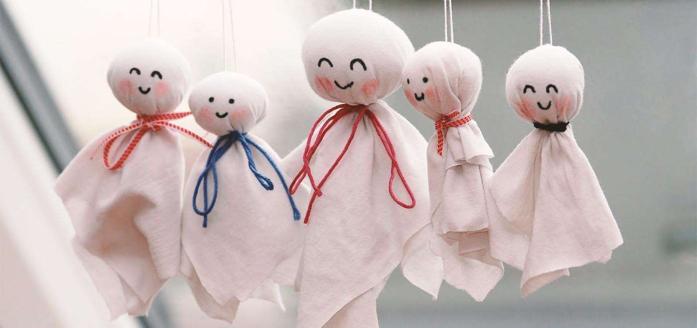 Bambola giapponese Teru Teru Bozu