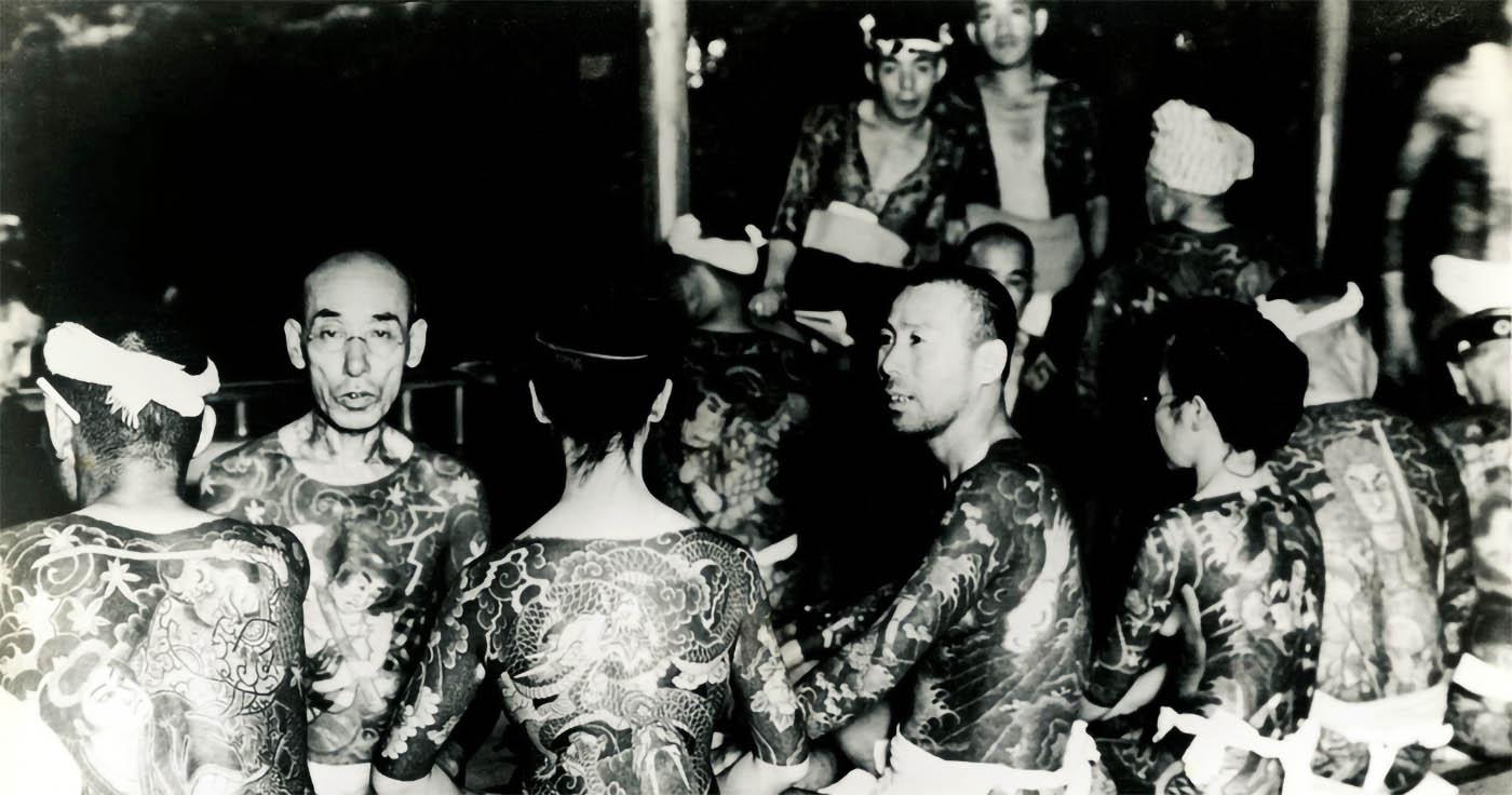 Yakuza mafia giapponese