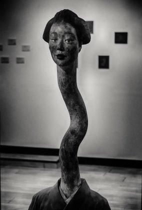 Yurei - Rappresentazione in una scultura d'arte moderna