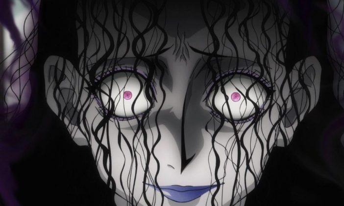 Yurei - Rappresentazione in un anime